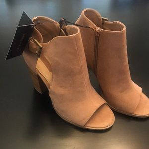 Forever 21 Mauve Booties NWT